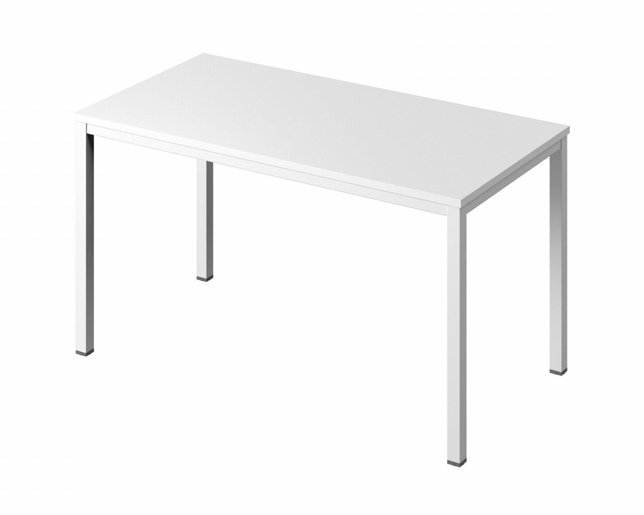Стол на металлокаркасе без заглушек кабель-канала  Public Comfort 135x70x74 - фото 6