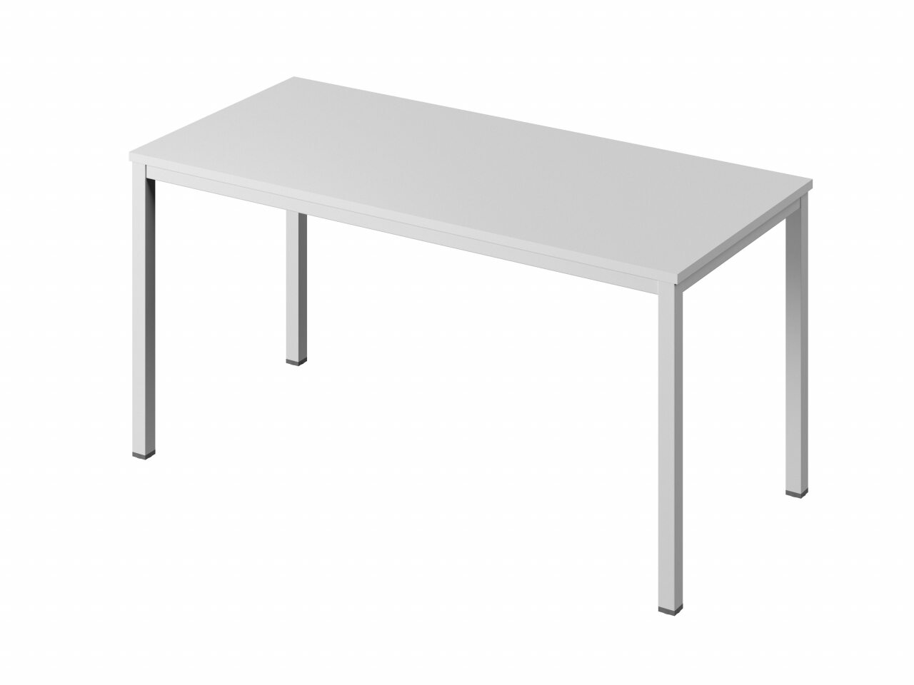 Стол на металлокаркасе без заглушек кабель-канала - фото 2