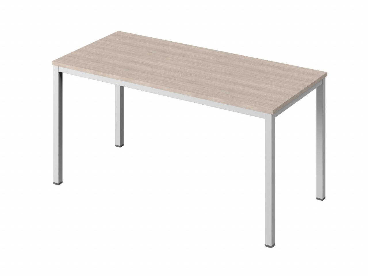 Стол на металлокаркасе без заглушек кабель-канала - фото 5