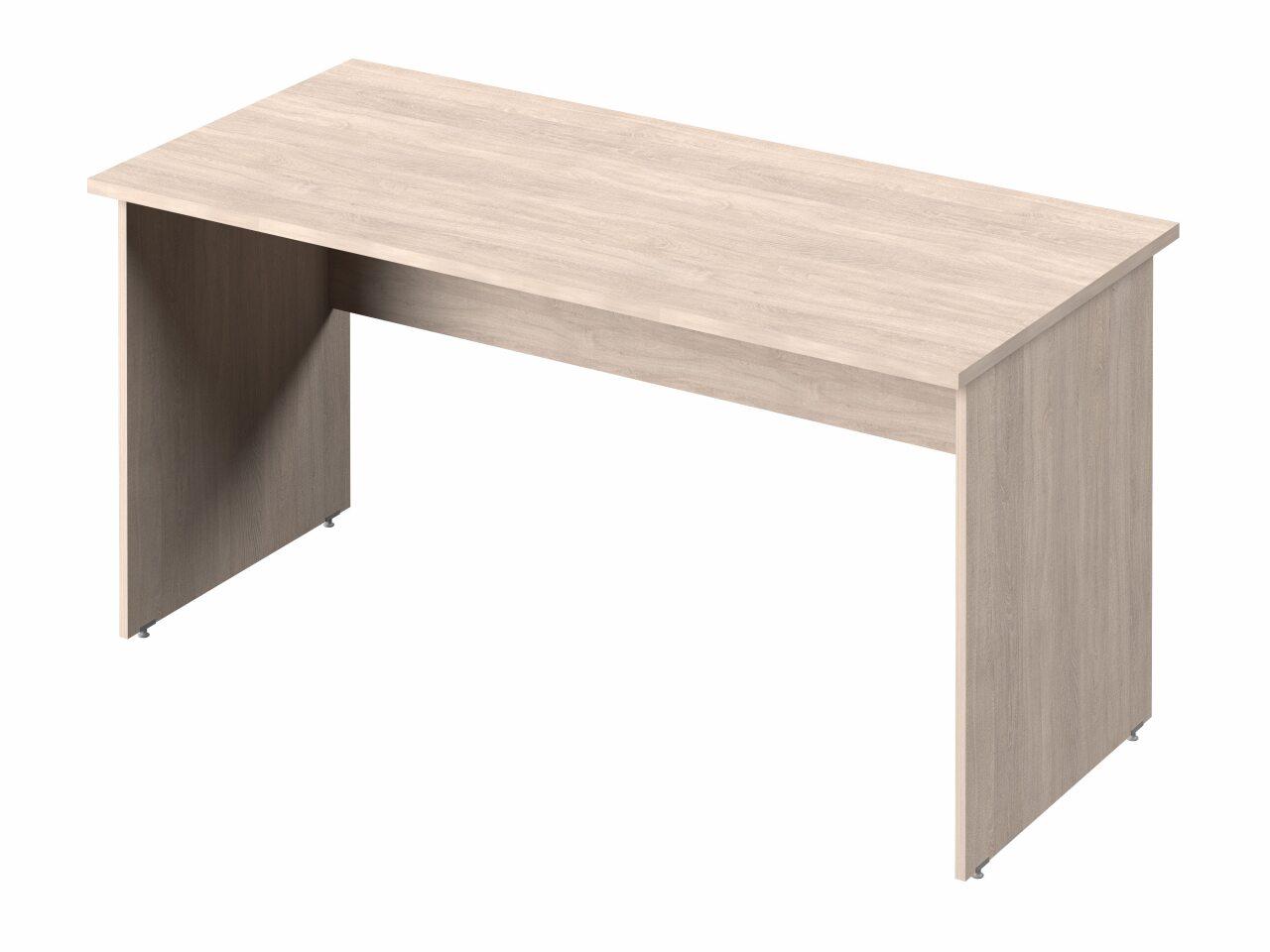 Стол прямой с опорами из ЛДСП - фото 5
