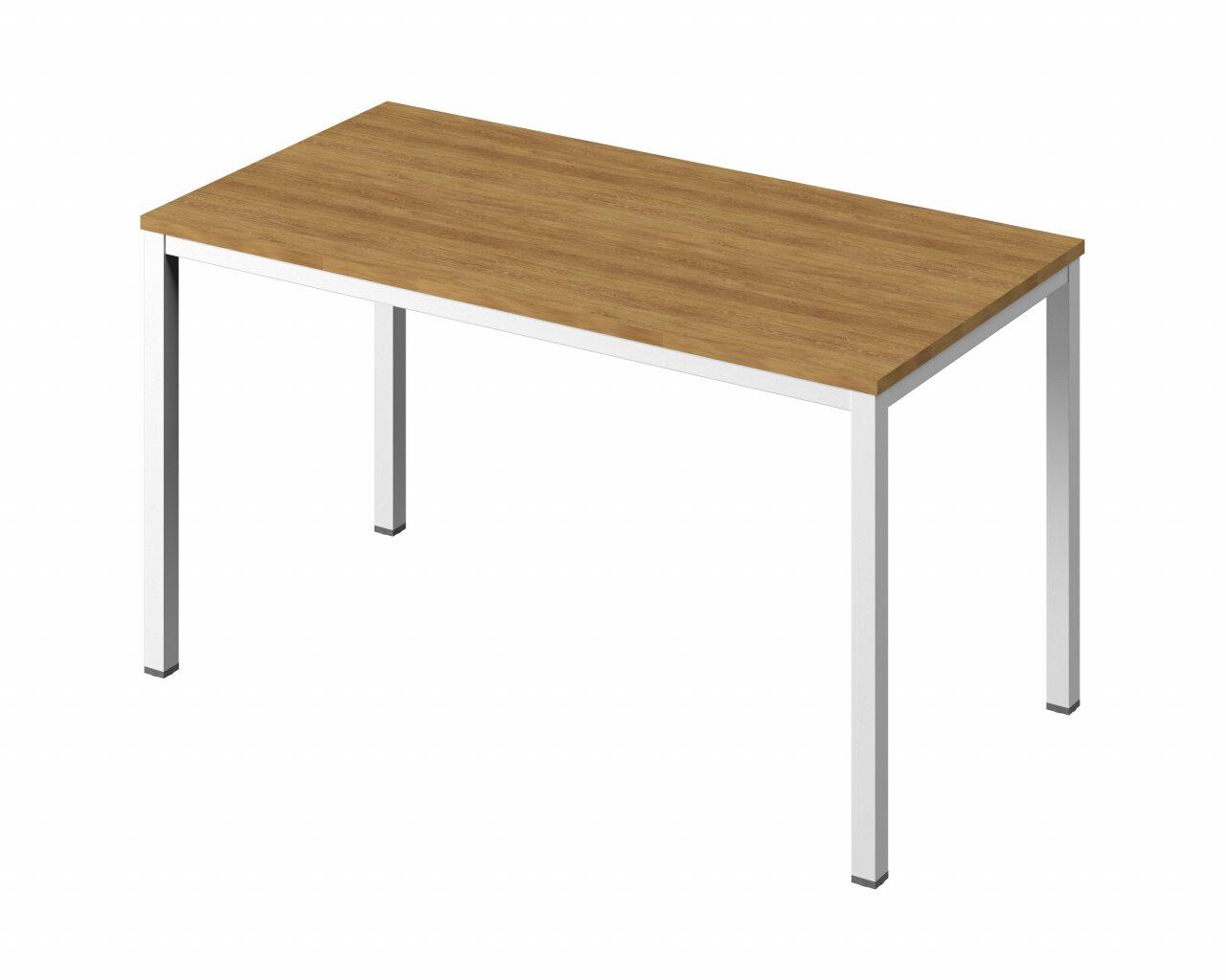 Стол на металлокаркасе без заглушек кабель-канала  Public Comfort 135x70x74 - фото 4