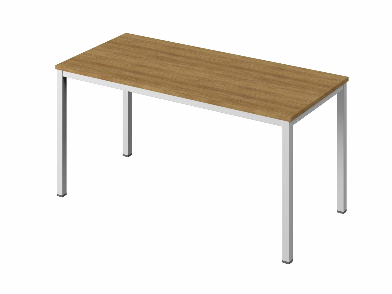Стол на металлокаркасе без заглушек кабель-канала - фото 4