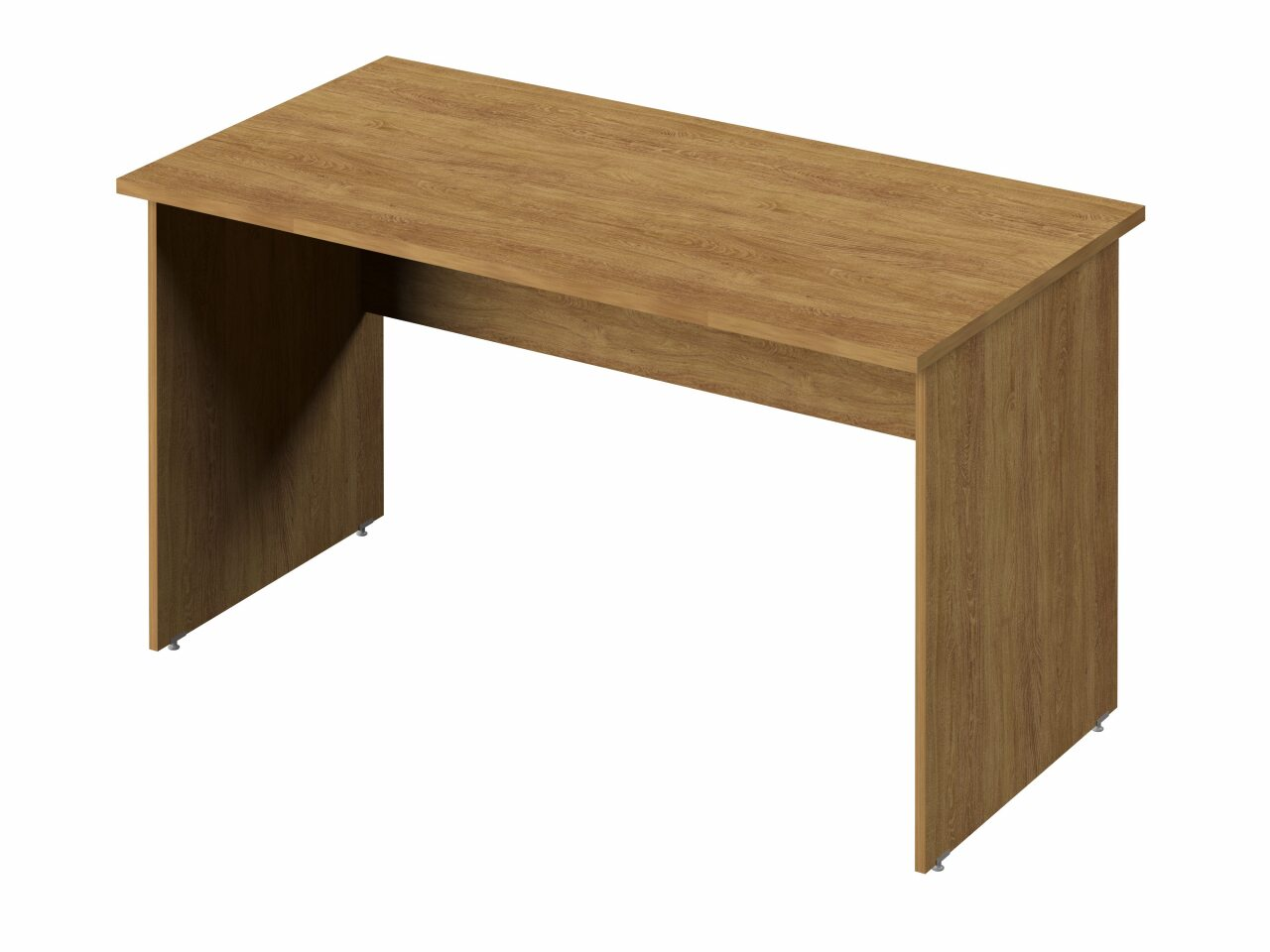 Стол прямой с опорами из ЛДСП  Public Comfort 135x70x74 - фото 4