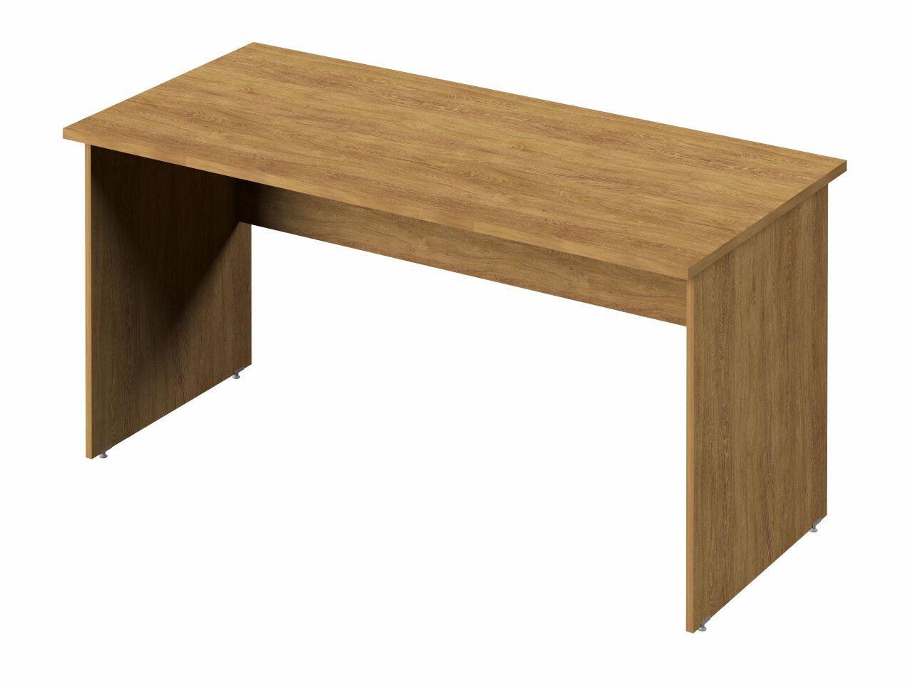 Стол прямой с опорами из ЛДСП - фото 4