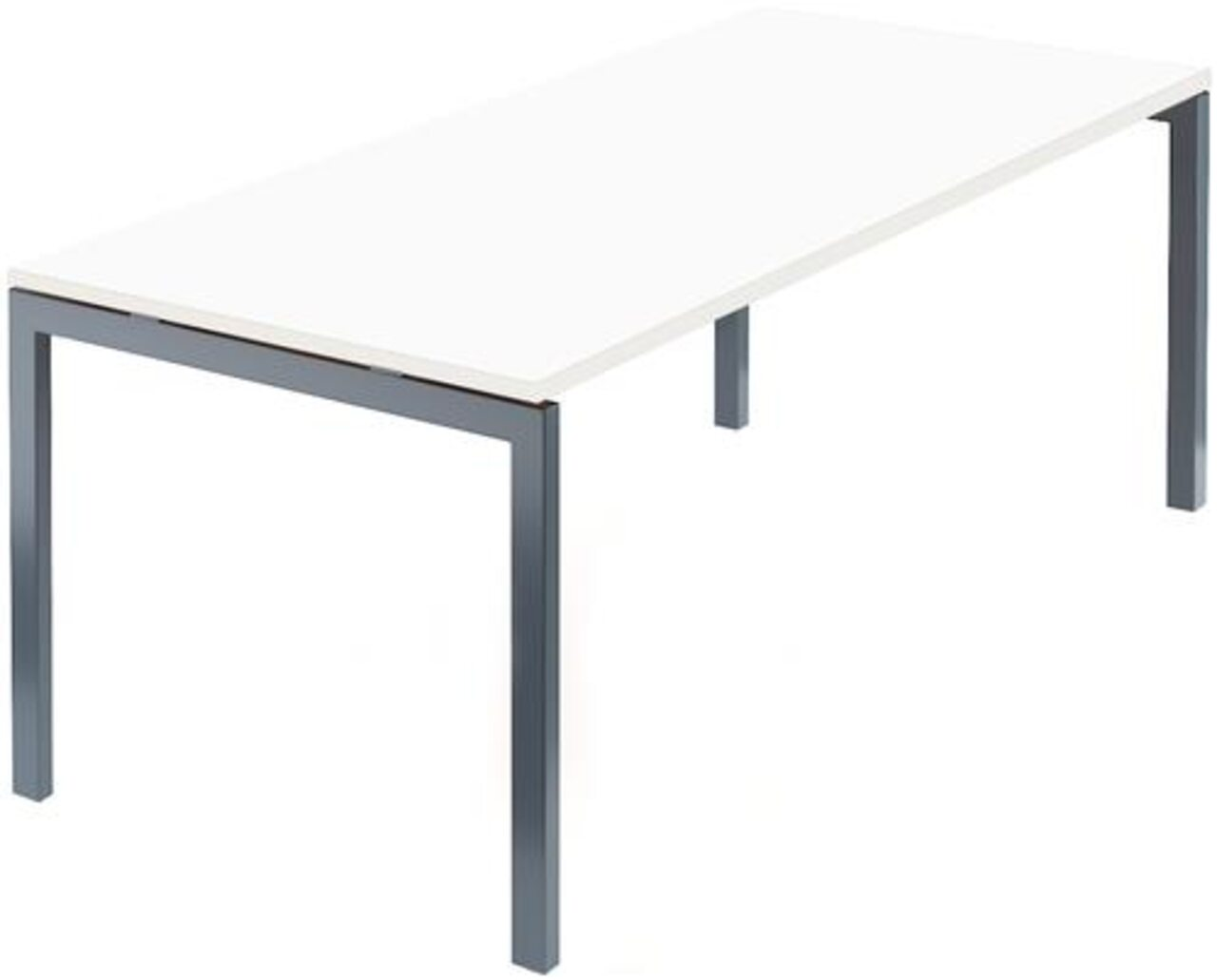 Стол на м/каркасе для заседаний/антрацит Арго 180x85x76 - фото 5