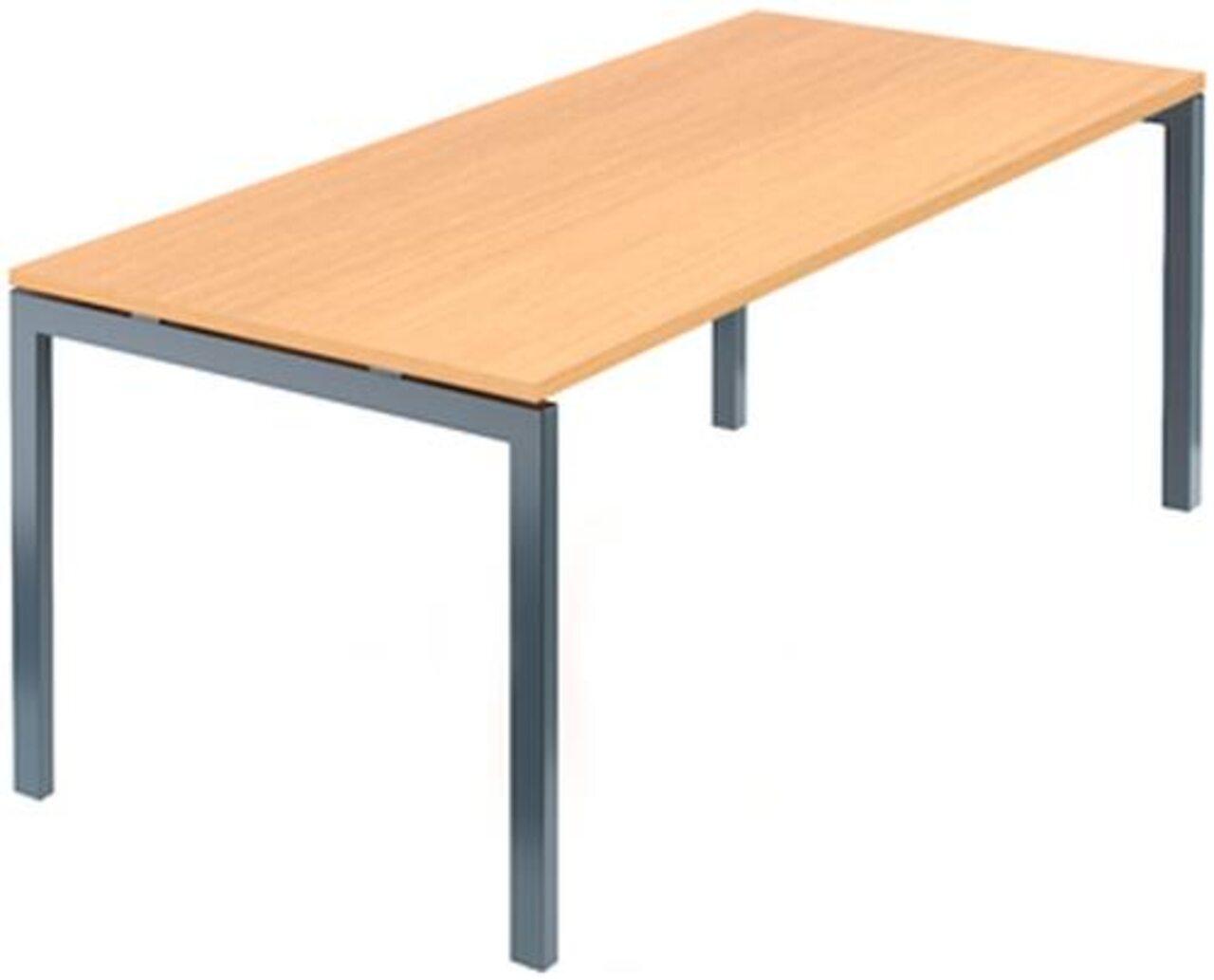 Стол на м/каркасе для заседаний/антрацит Арго 180x85x76 - фото 7
