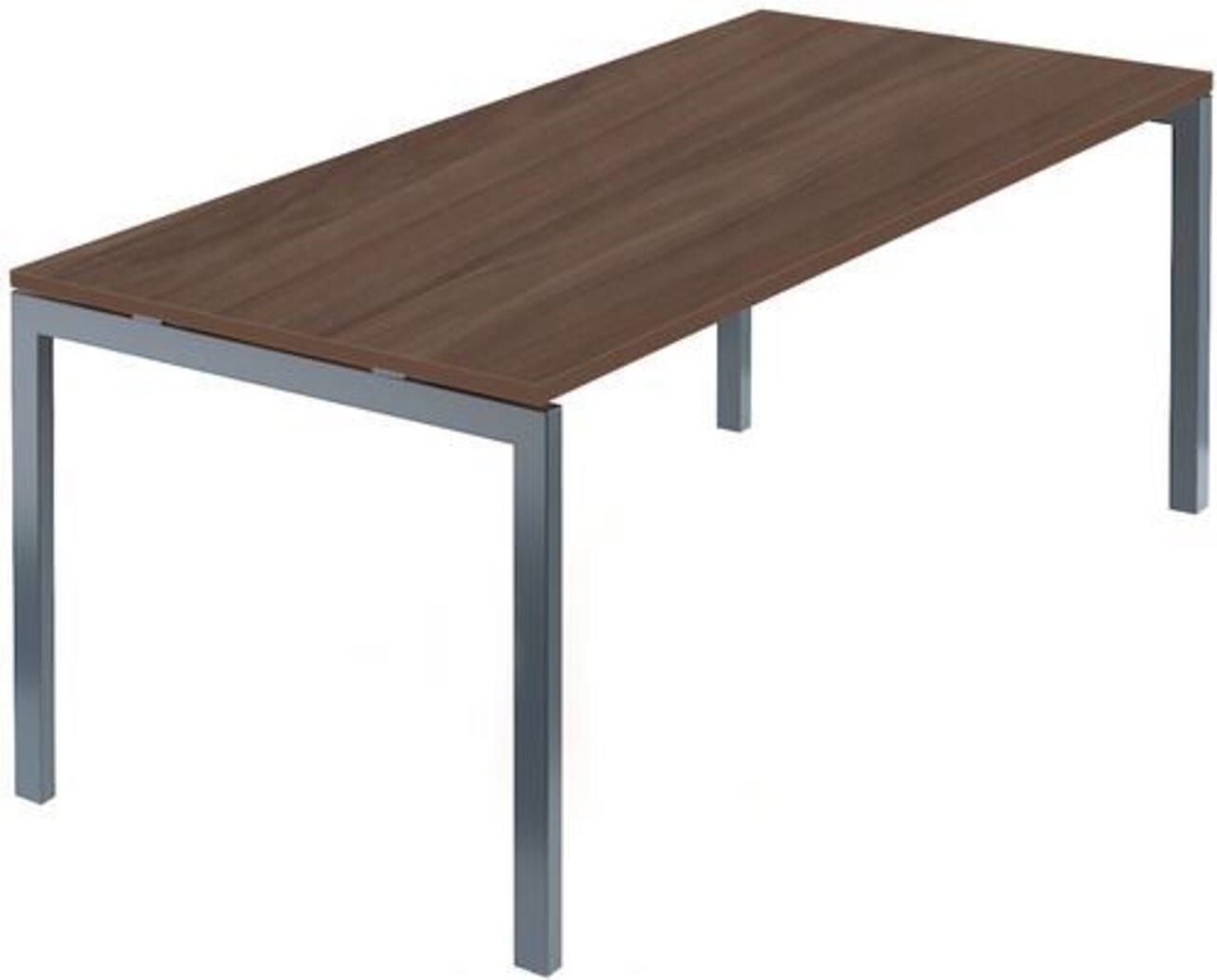 Стол на м/каркасе для заседаний/антрацит Арго 180x85x76 - фото 8
