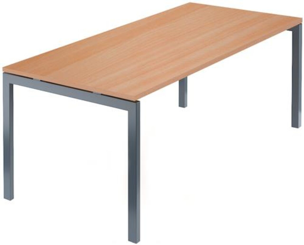 Стол на м/каркасе для заседаний/антрацит Арго 180x85x76 - фото 2