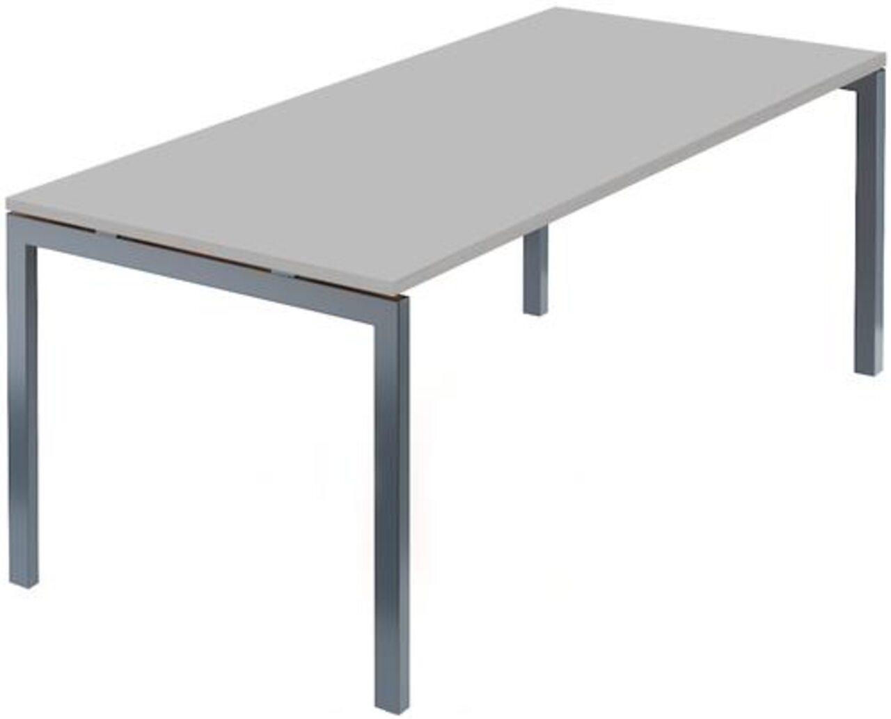 Стол на м/каркасе для заседаний/антрацит Арго 180x85x76 - фото 4