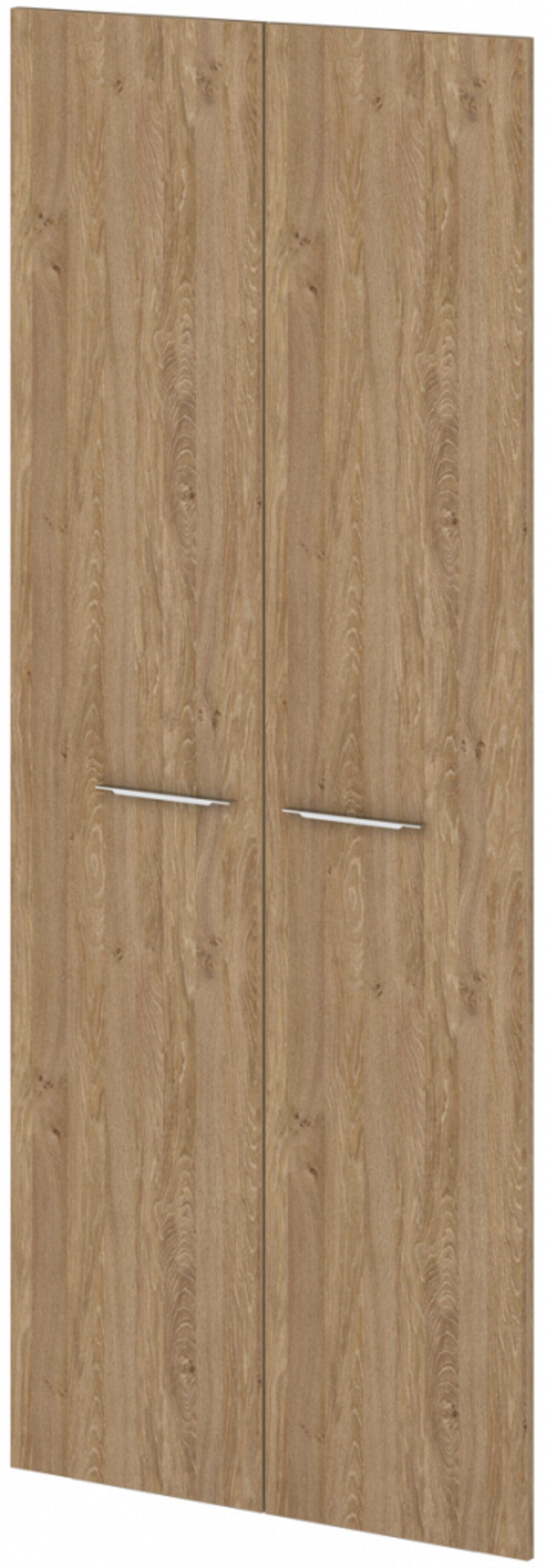Двери ЛДСП высокие  Grandeza 2x90x221 - фото 5
