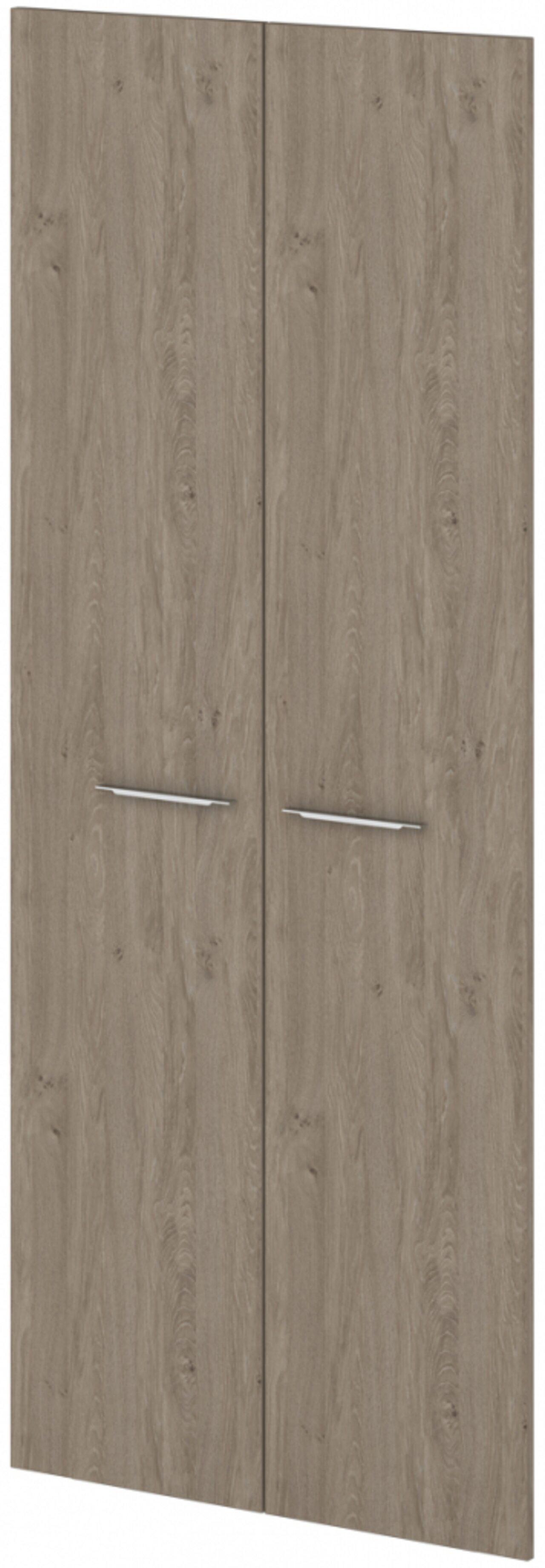 Двери ЛДСП высокие  Grandeza 2x90x221 - фото 3