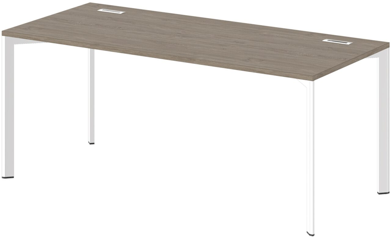 Стол на металлокаркасе  Grandeza 80x180x75 - фото 4