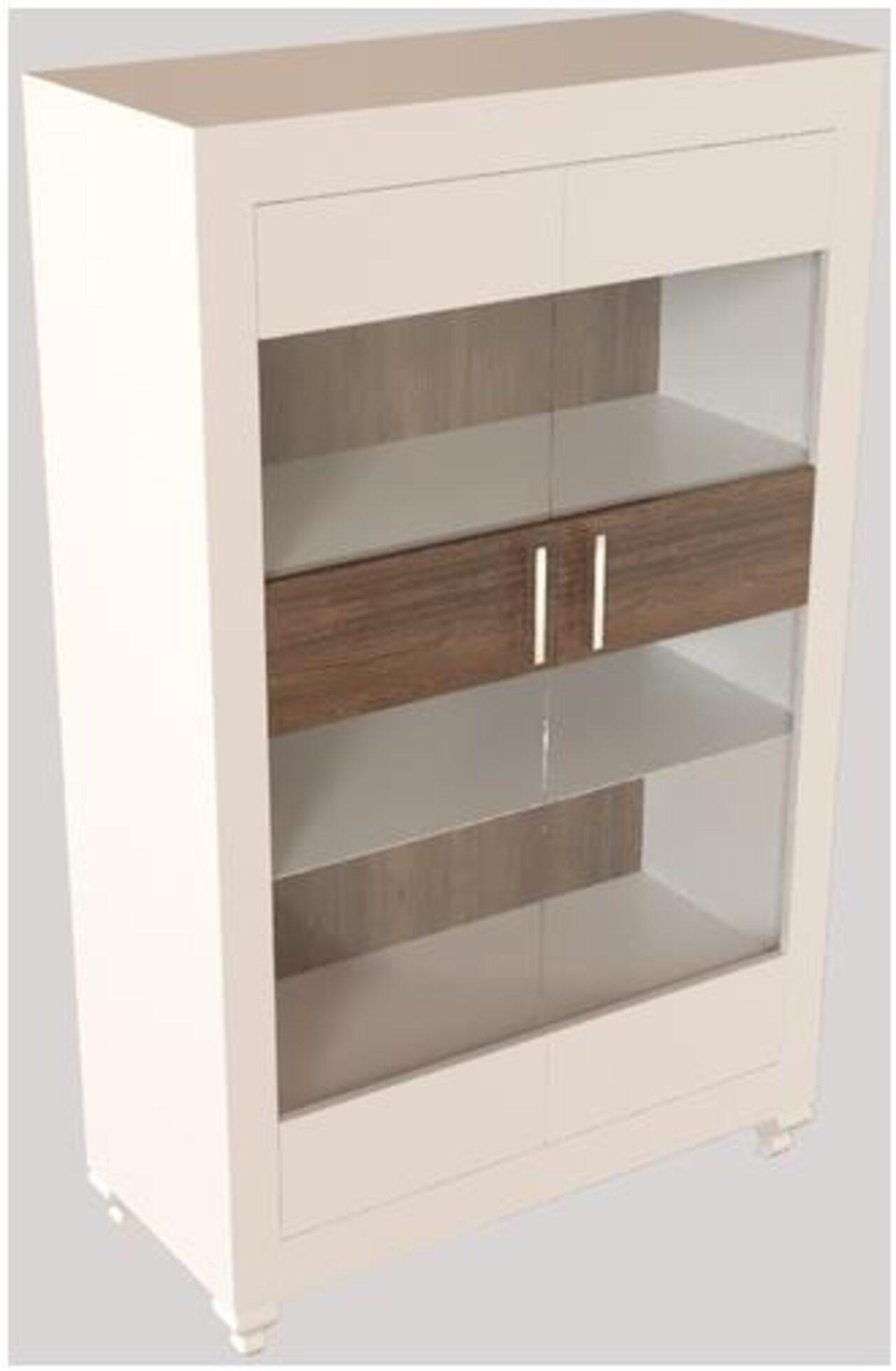 Шкаф-витрина  Калле 100x45x158 - фото 5