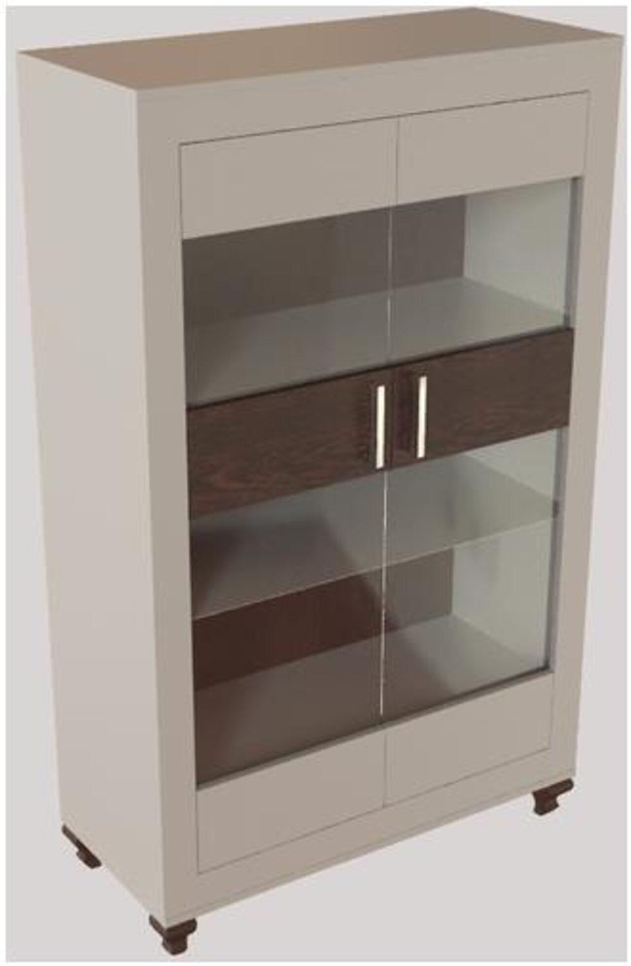 Шкаф-витрина  Калле 100x45x158 - фото 4