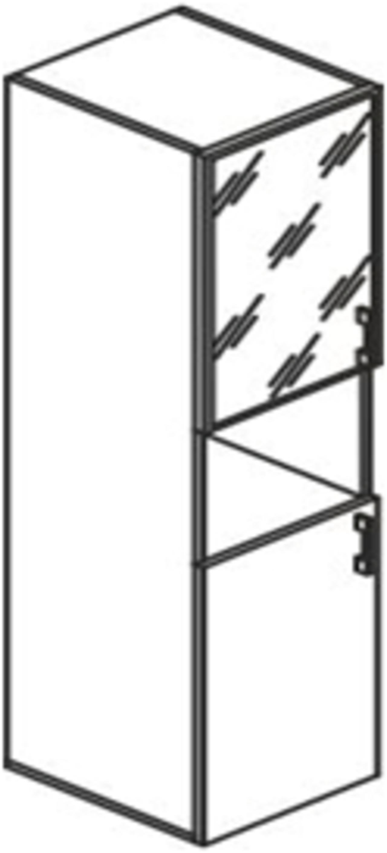 Стеллаж высокий узкий - фото 3