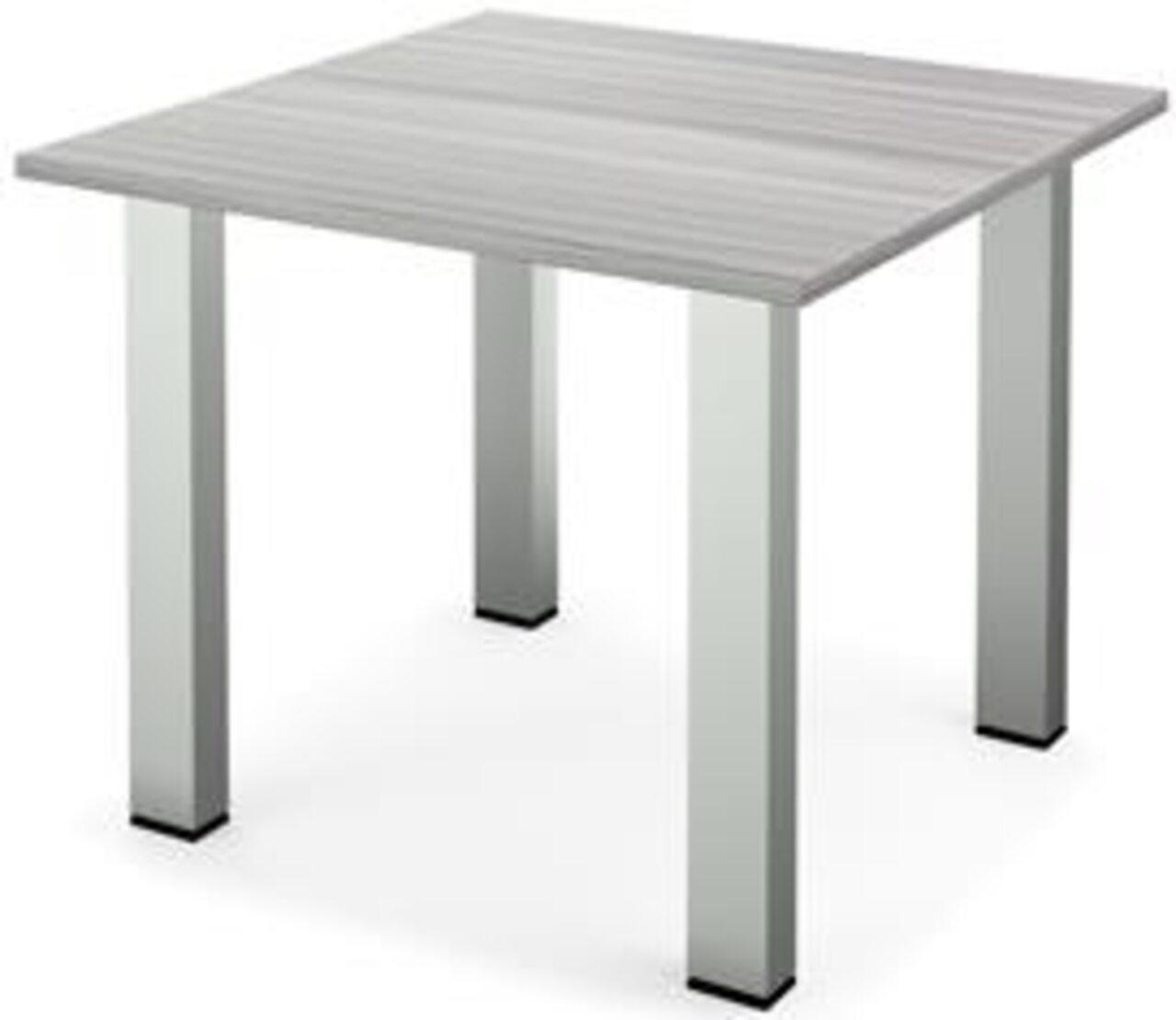 Стол для переговоров Аргентум 90x90x75 - фото 4
