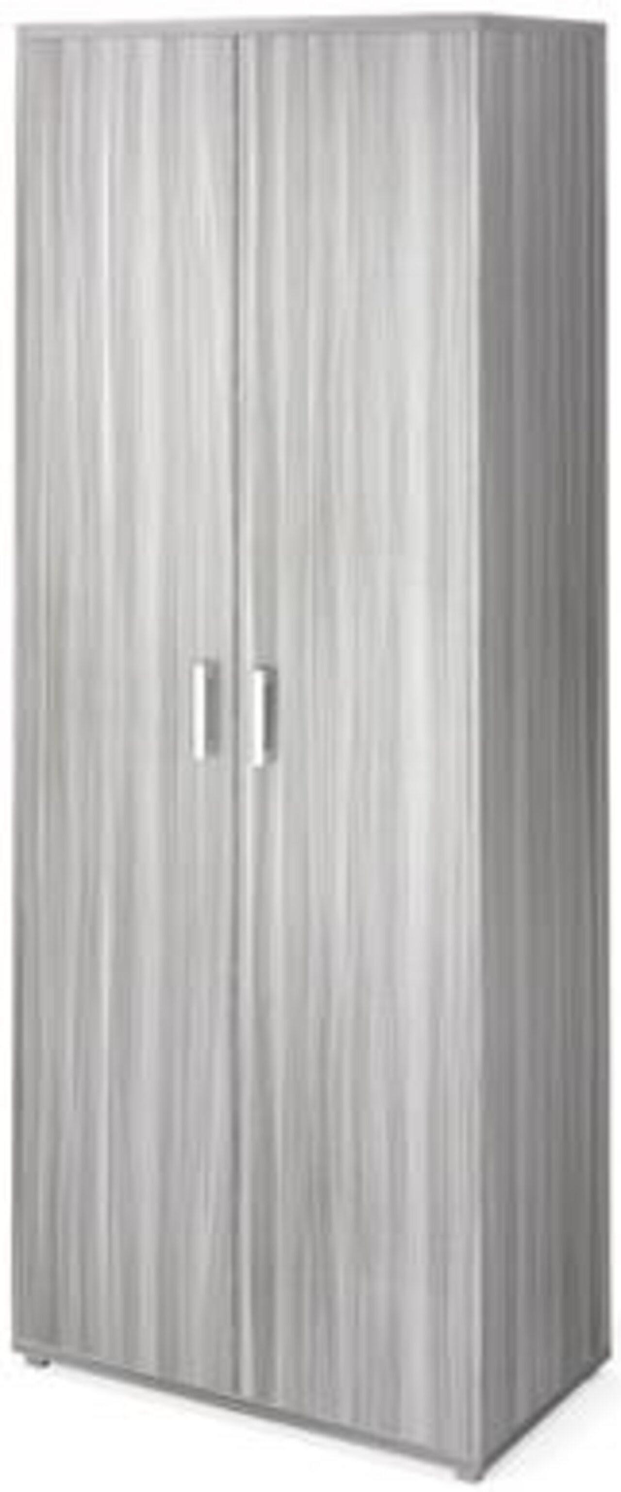 Шкаф для одежды  Аргентум 90x45x205 - фото 5