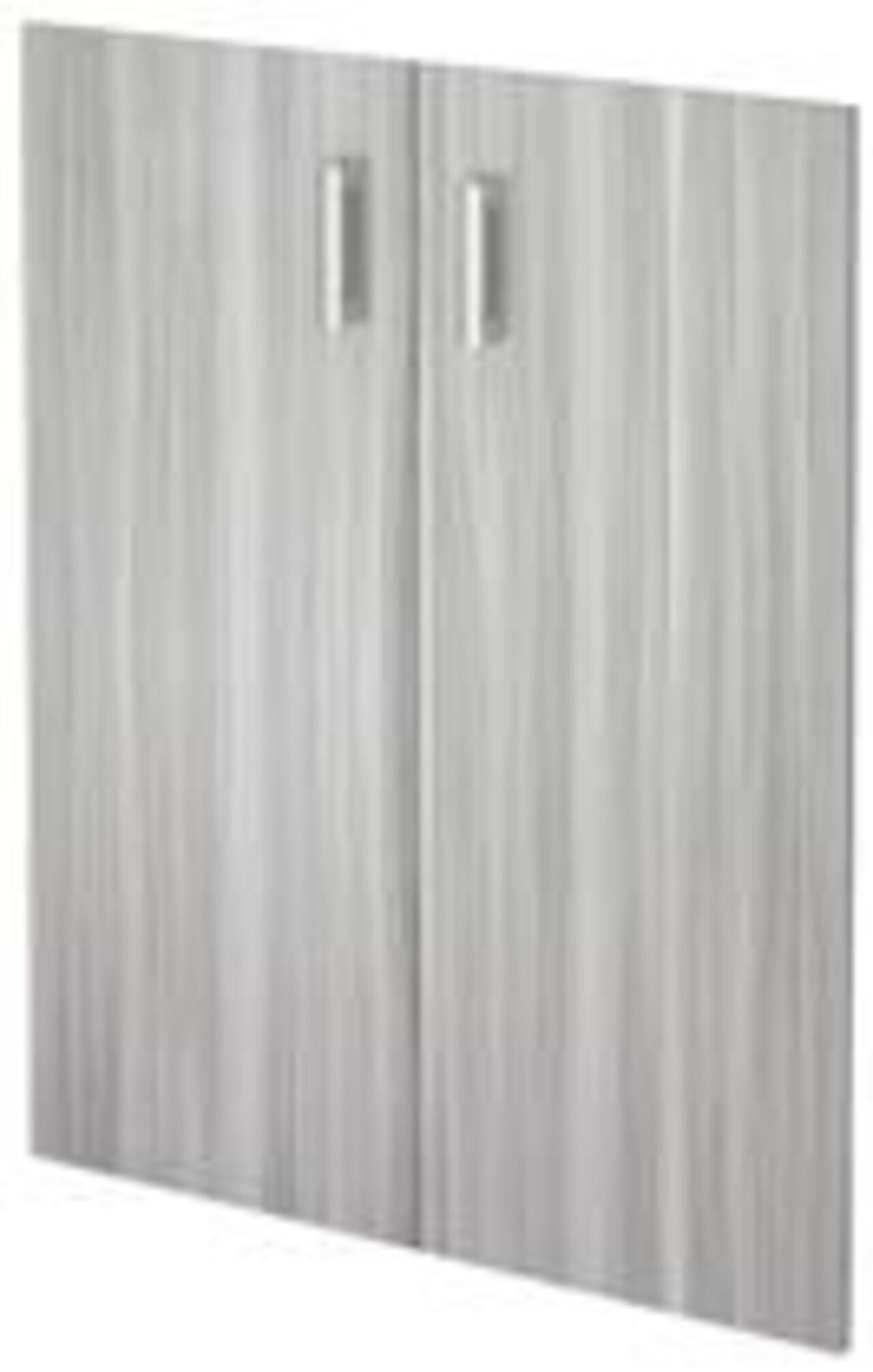 Двери из ЛДСП к широким стеллажам  Аргентум 78x2x118 - фото 5