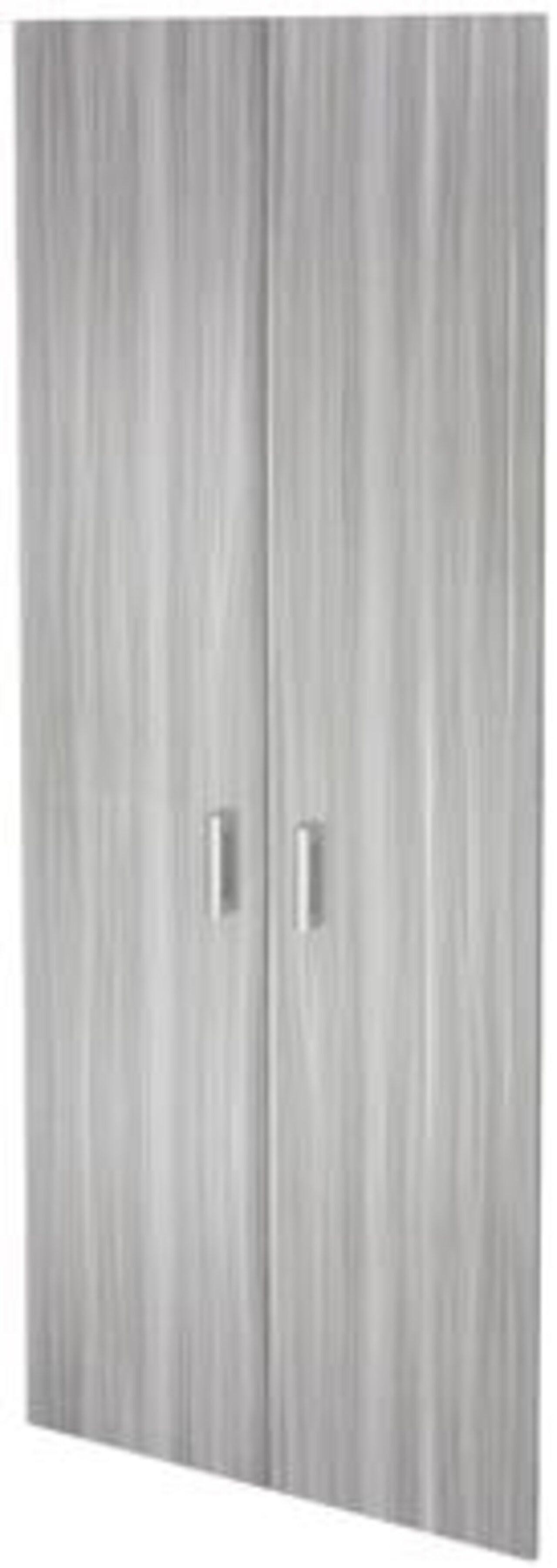 Двери из ЛДСП к широким стеллажам  Аргентум 78x2x195 - фото 5