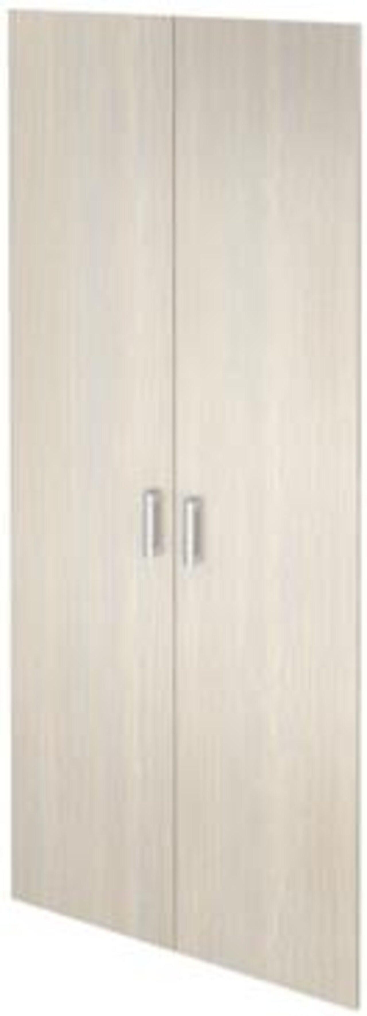 Двери из ЛДСП к широким стеллажам  Аргентум 78x2x195 - фото 6