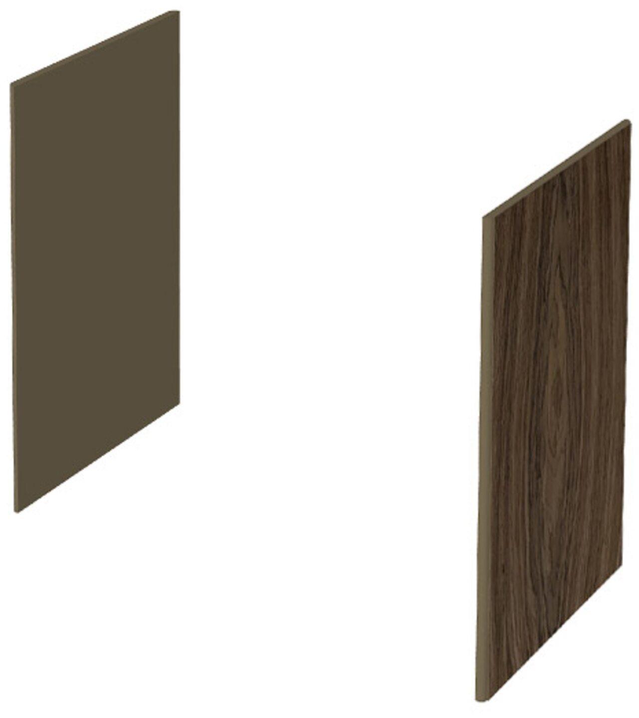 Декоративные боковые панели для низких шкафов  New.Tone 46x2x82 - фото 1