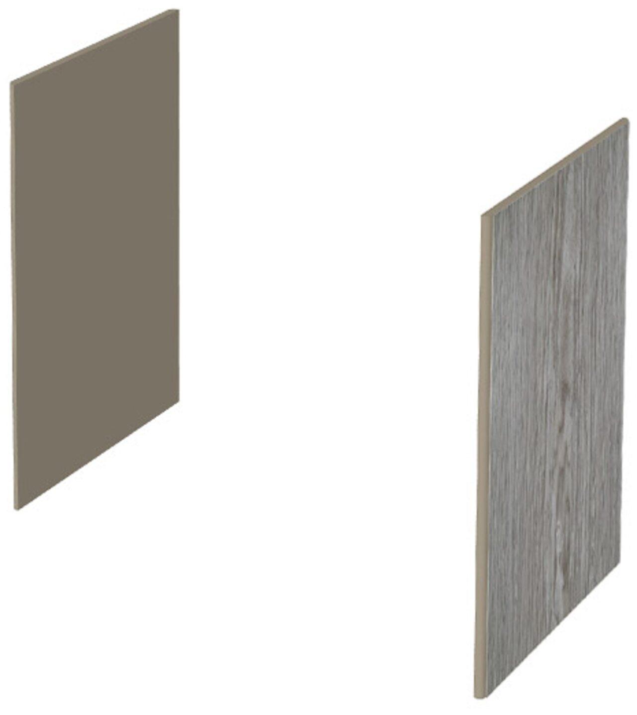Декоративные боковые панели для низких шкафов  New.Tone 46x2x82 - фото 3