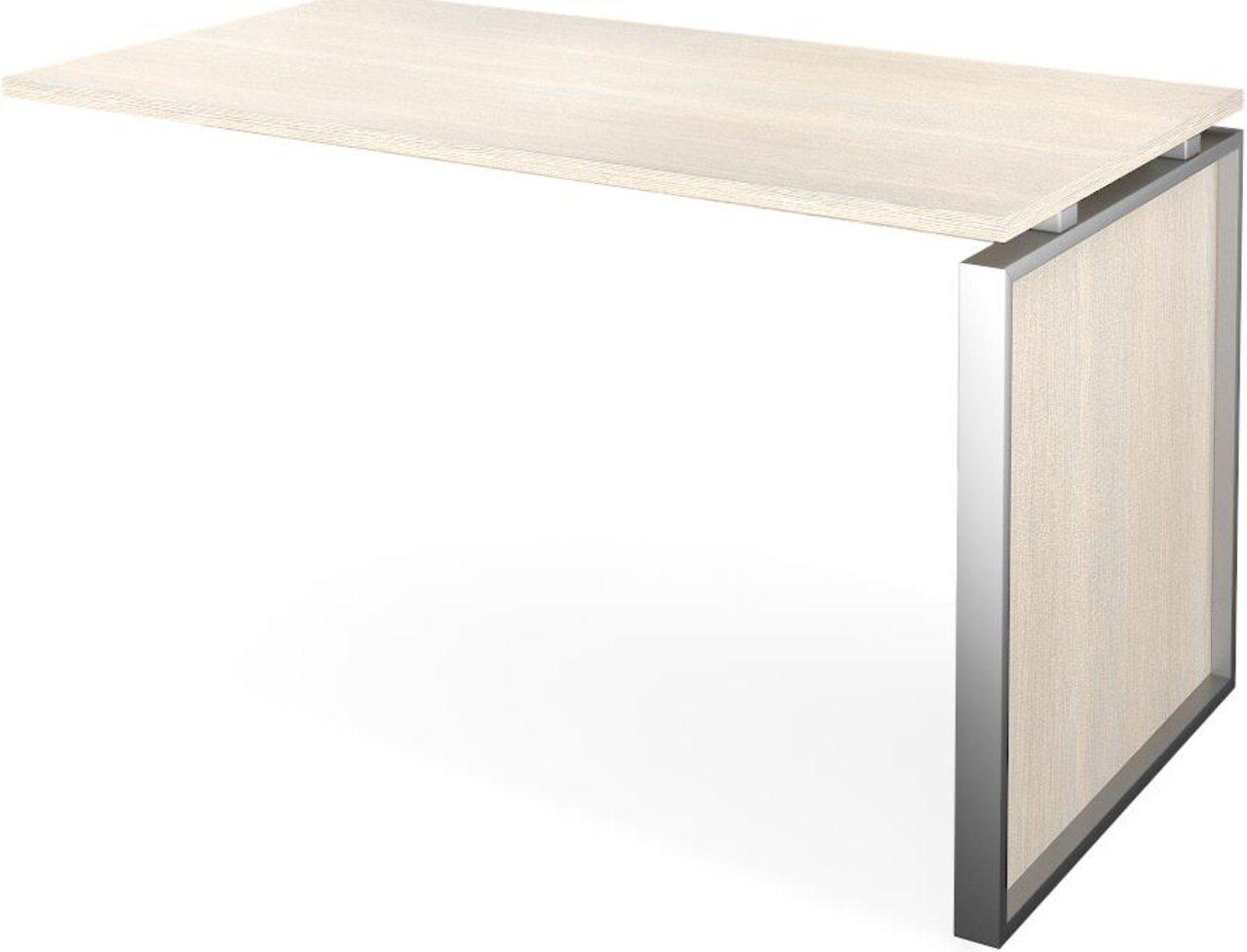 Конференц-приставка стола руководителя Аргентум 130x60x75 - фото 5