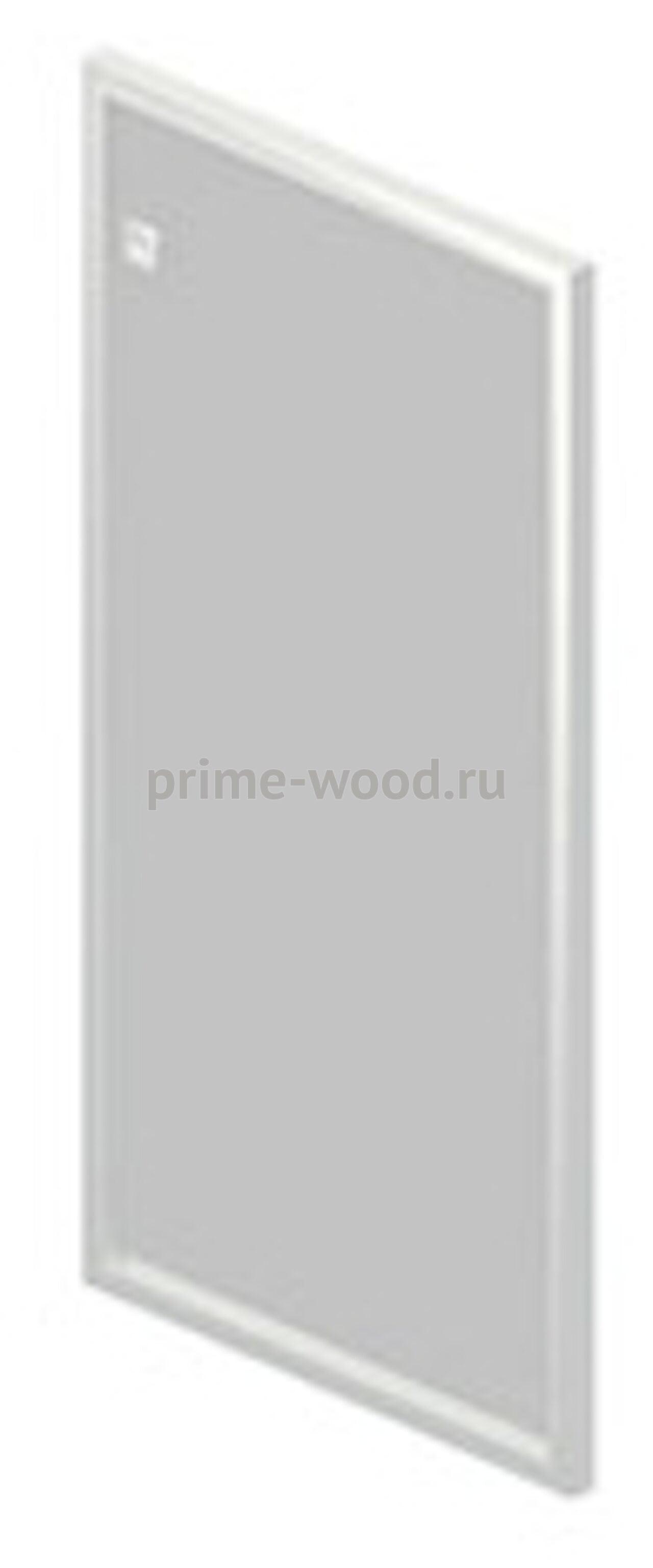 Дверь стеклянная в алюминиевой раме - фото 1