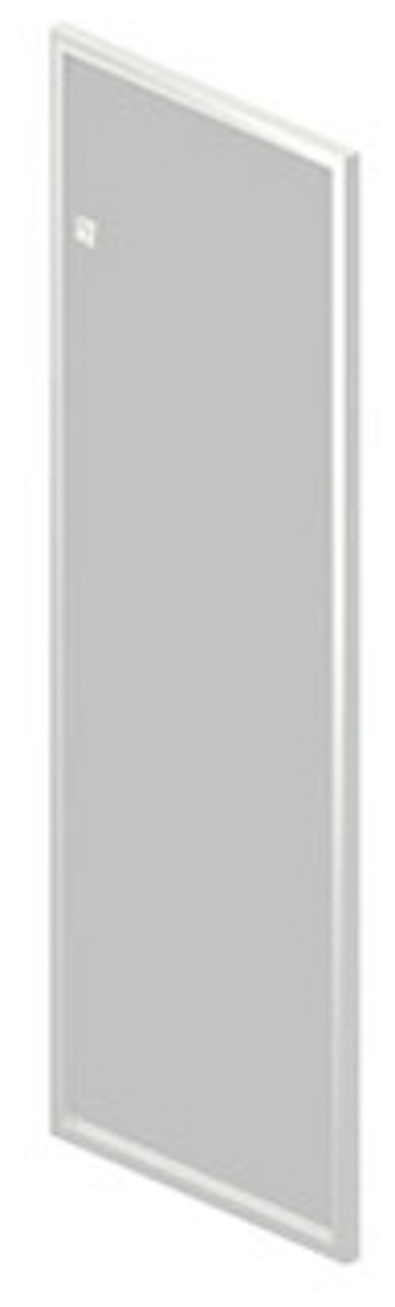 Дверь стеклянная в алюминиевой раме  Rio 40x117x2 - фото 1