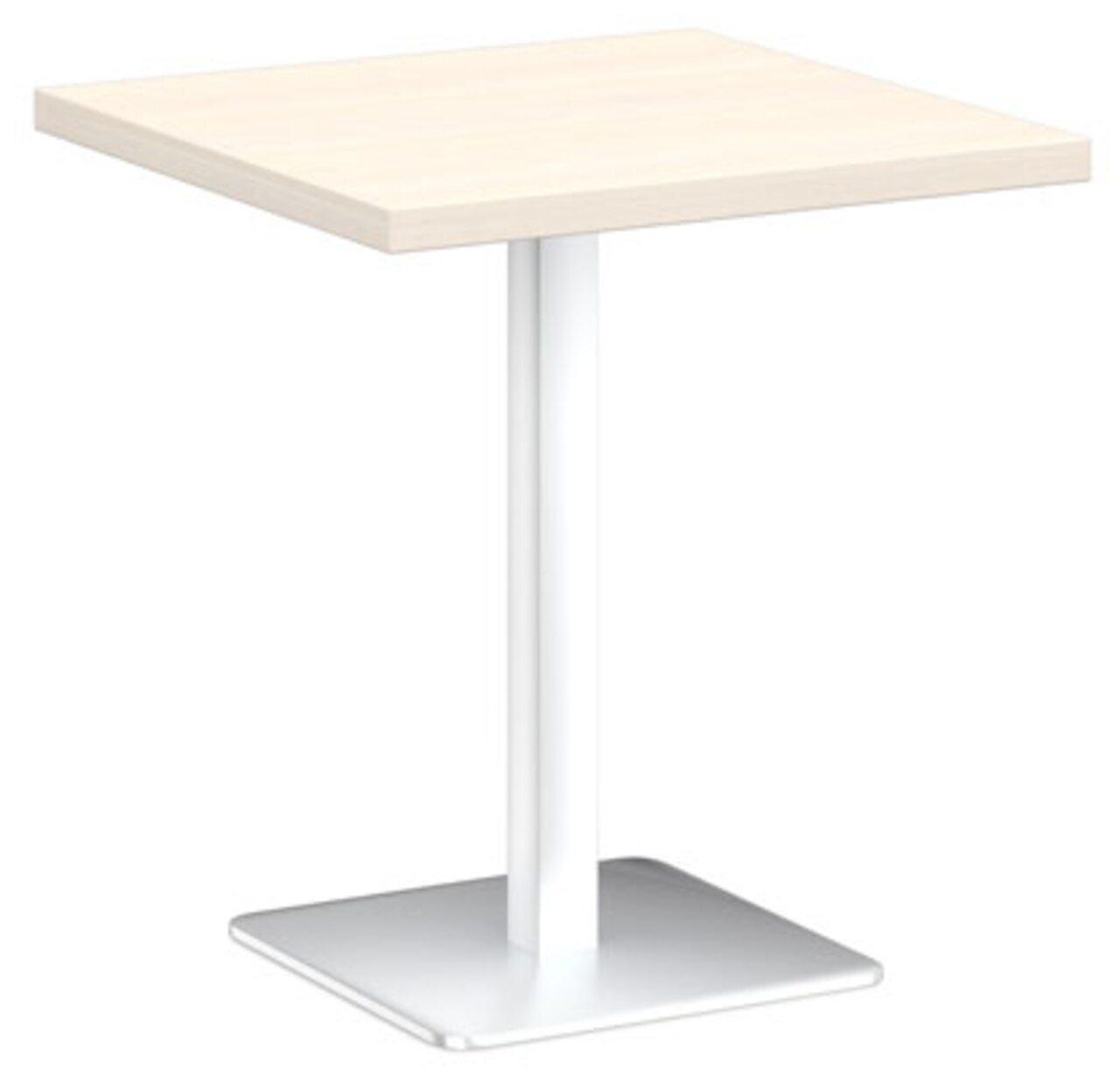 Стол на металлической опоре - фото 4