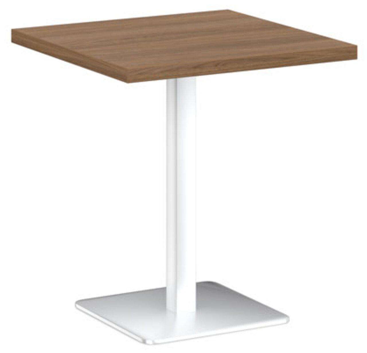 Стол на металлической опоре - фото 5