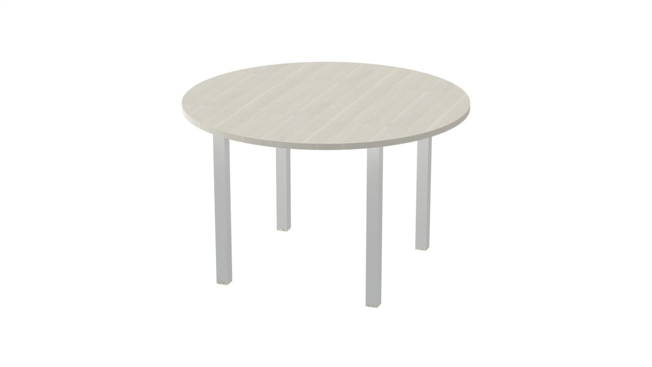 Стол на металлокаркасе - фото 4