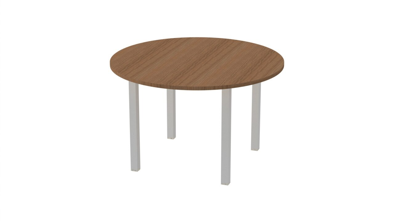 Стол на металлокаркасе  Vasanta 120x120x75 - фото 4