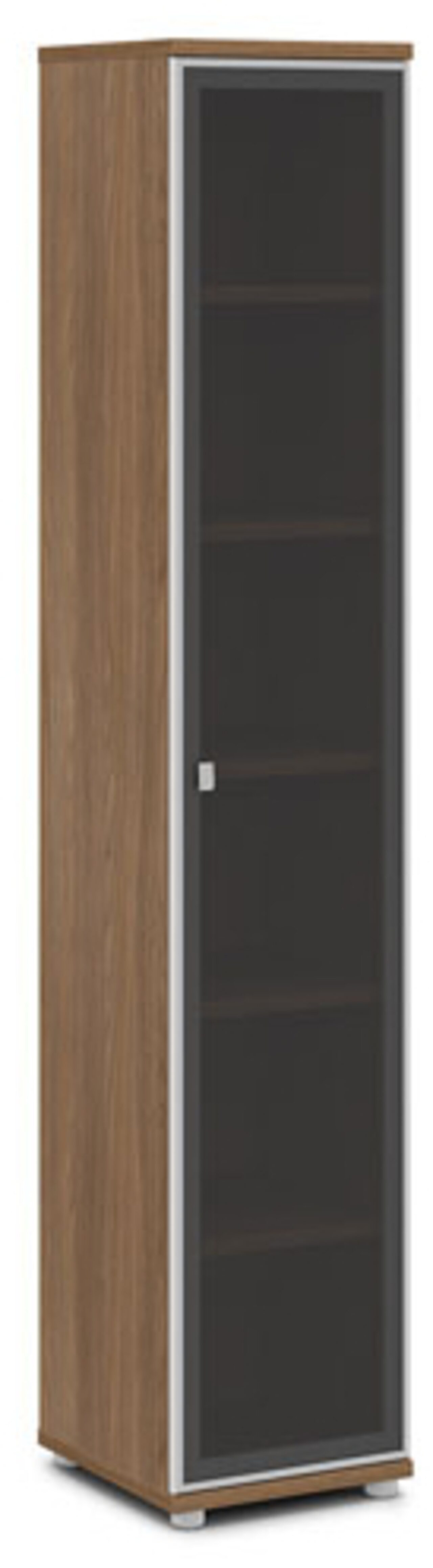Шкаф со стеклом в алюминиевом профиле  Vasanta 42x44x220 - фото 5