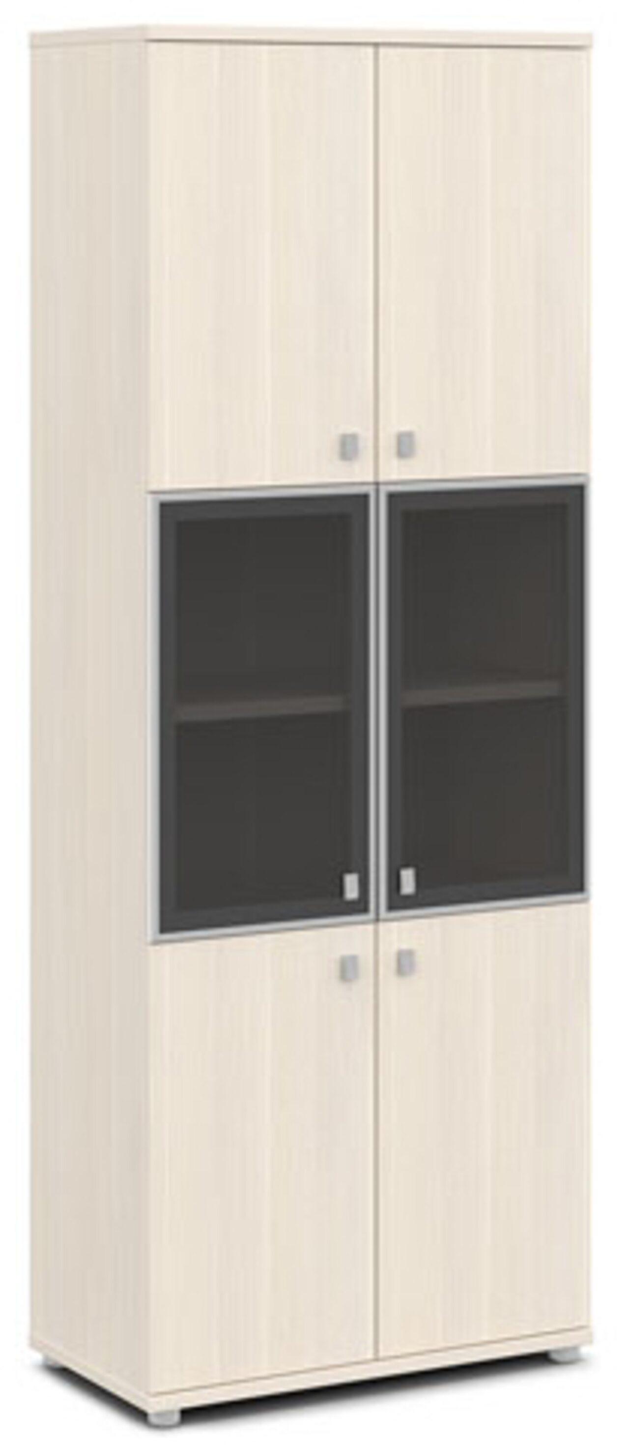 Шкаф со стеклом в алюминиевом профиле  Vasanta 82x44x220 - фото 6
