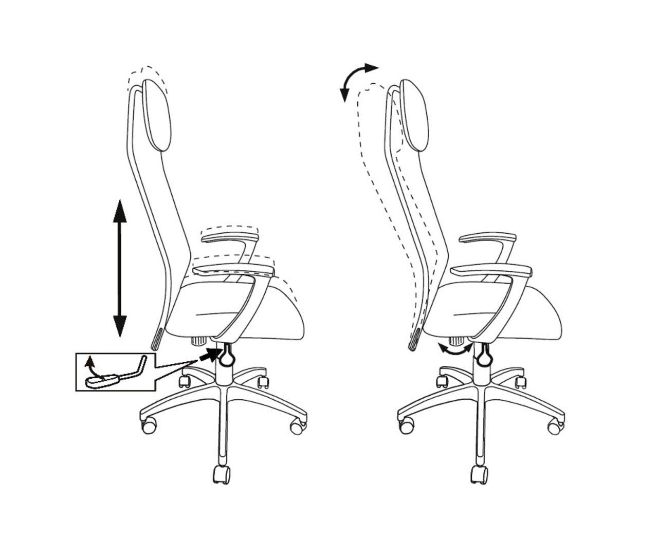 Кресло руководителя KB-8N/ - фото 4
