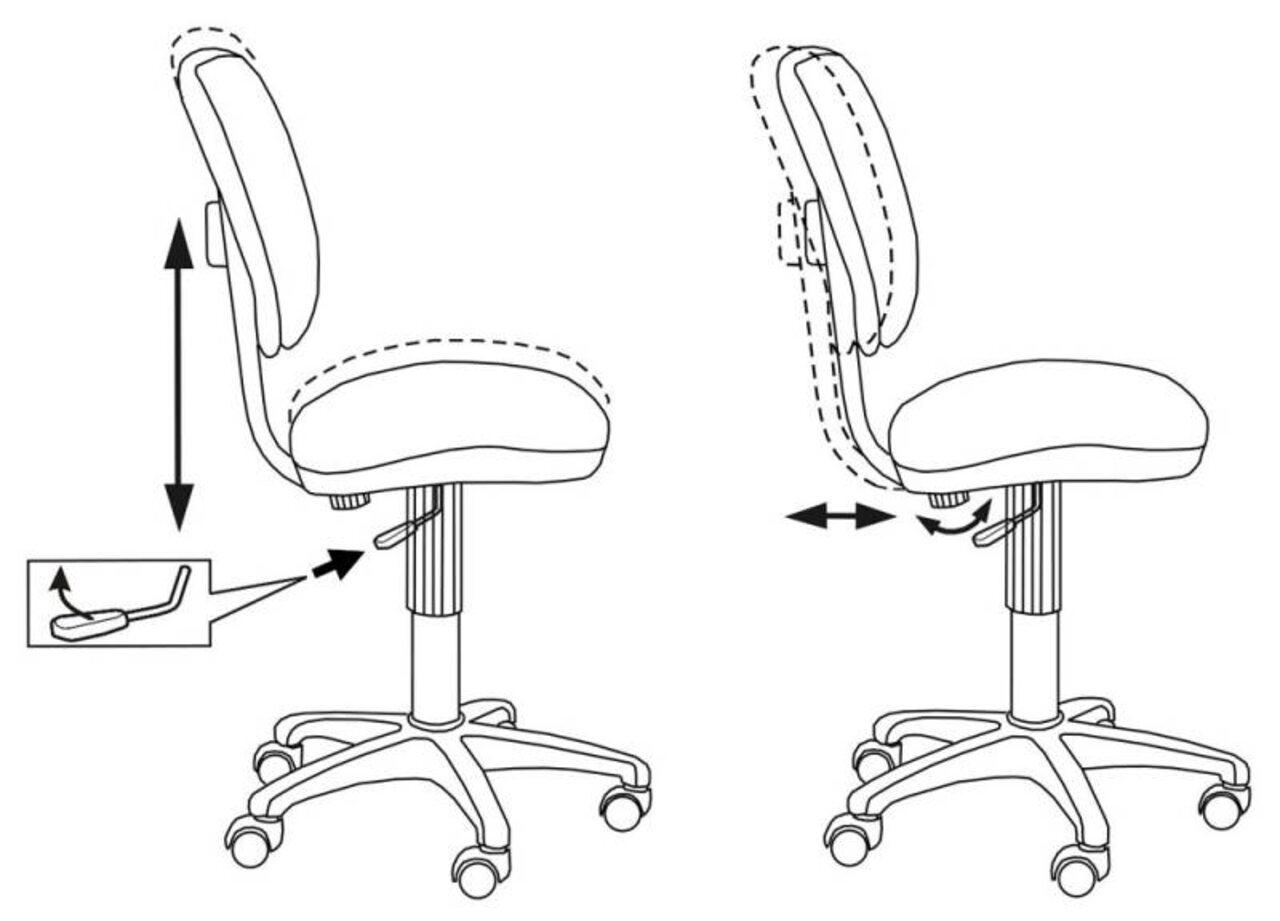 Кресло для персонала CH-204NX/26-22 - фото 6