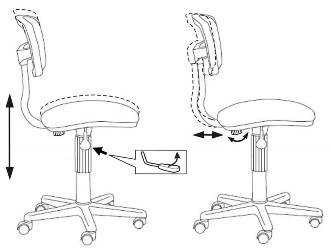 Кресло для персонала CH-299/ - фото 5