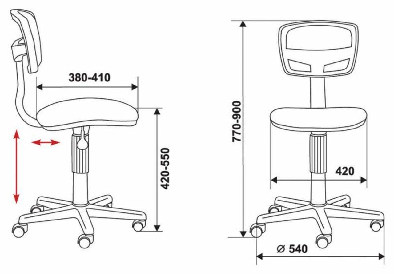 Кресло для персонала CH-299/ - фото 6