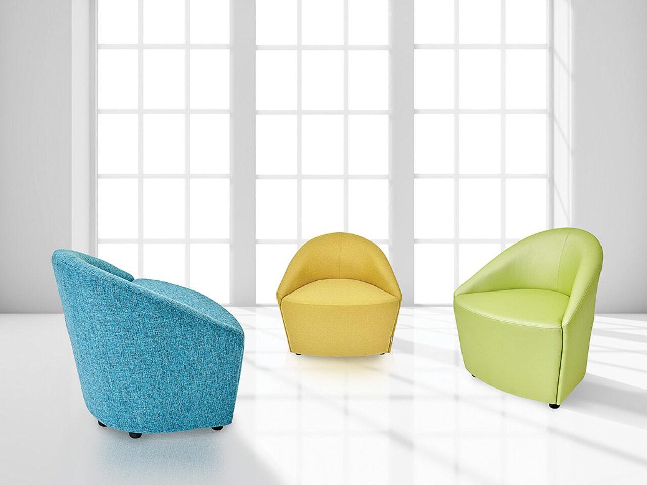 Мягкая офисная мебель 3D - фото 1