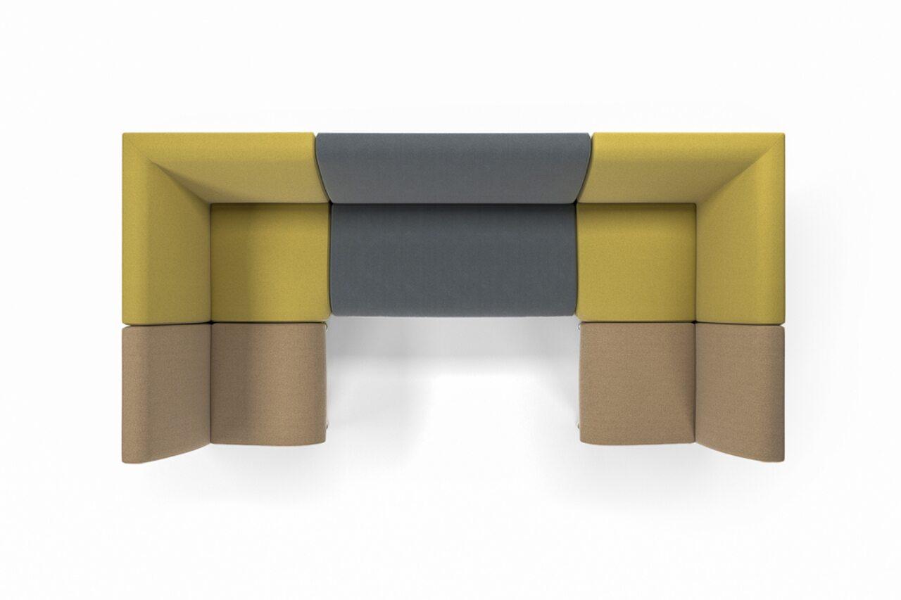 Мягкая офисная мебель ИНТЕР хром - фото 9