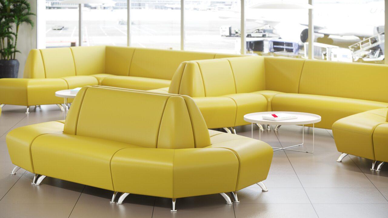 Мягкая офисная мебель ИНТЕР хром - фото 2