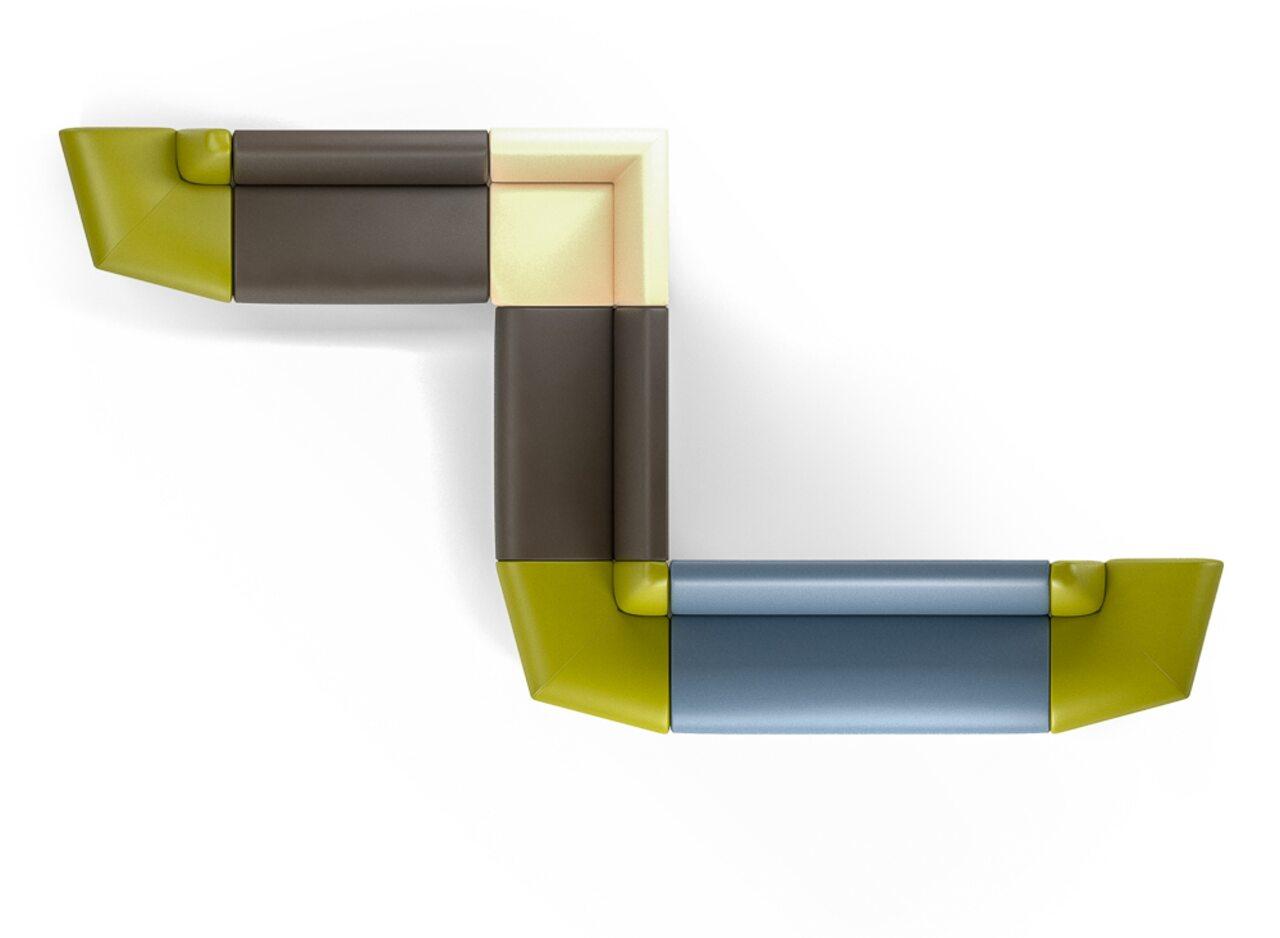 Мягкая офисная мебель ИНТЕР хром - фото 6