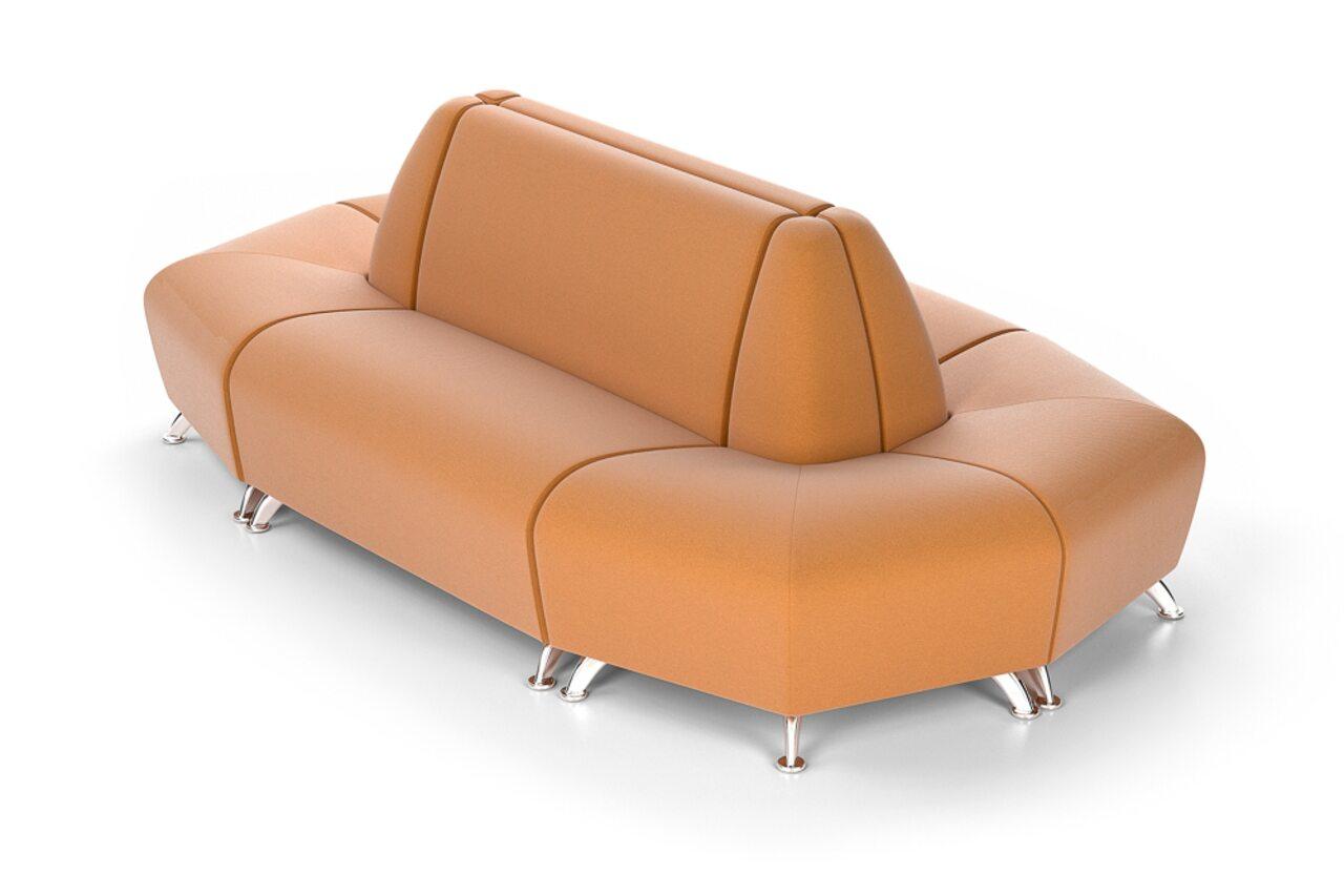 Мягкая офисная мебель ИНТЕР хром - фото 8