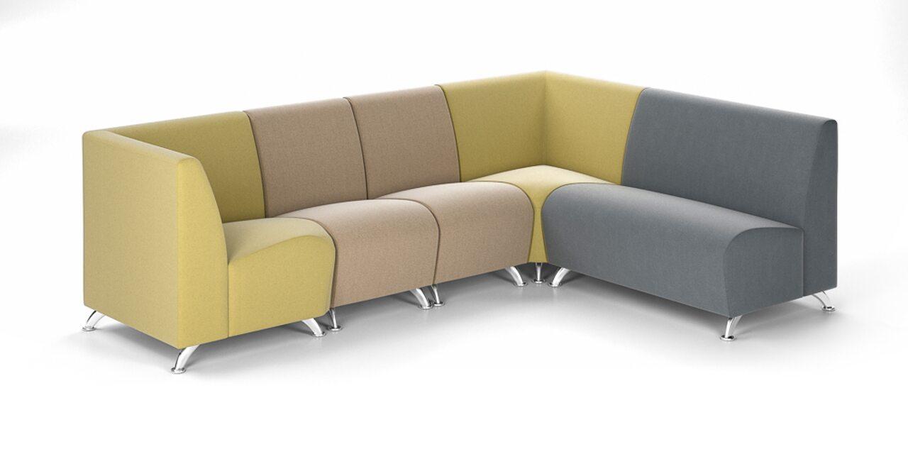 Мягкая офисная мебель ИНТЕР хром - фото 7