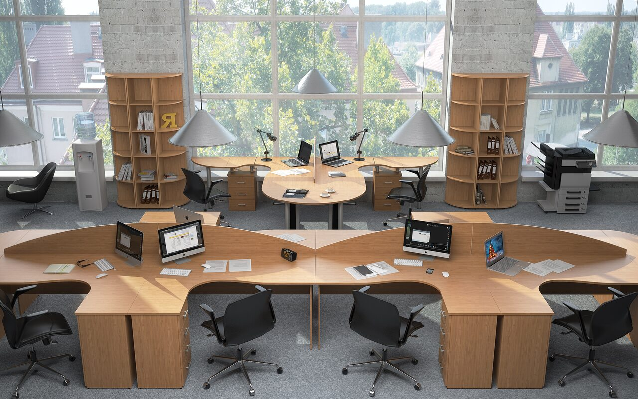 Стол для переговоров Монолит - фото 1