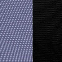 Синяя сетка/черная ткань