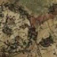 Принт «карта на бежевом»