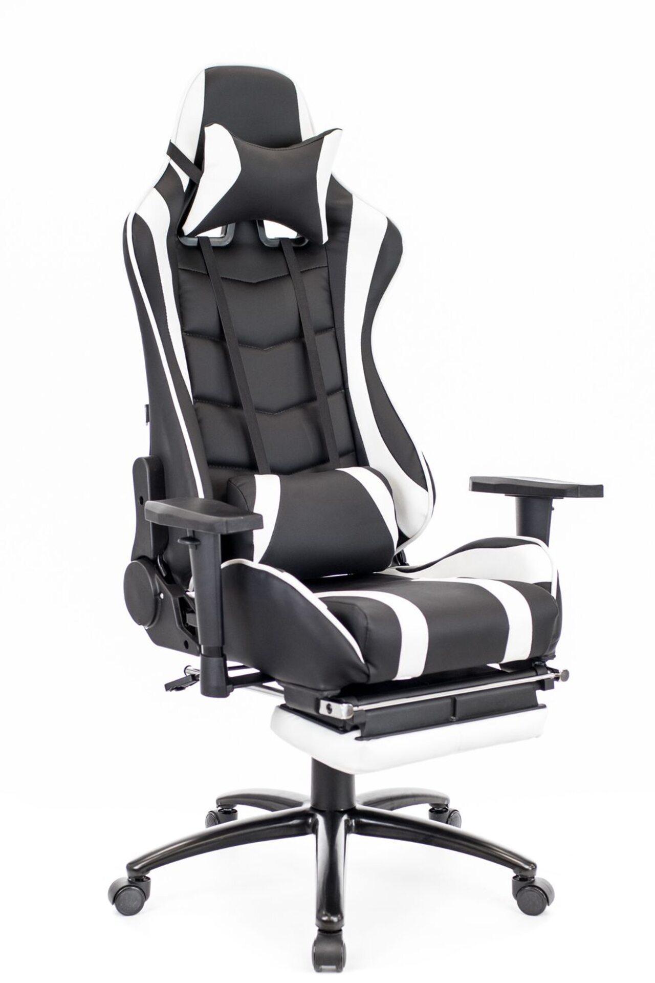 Кресло для геймеров Lotus S1 экокожа - фото 1
