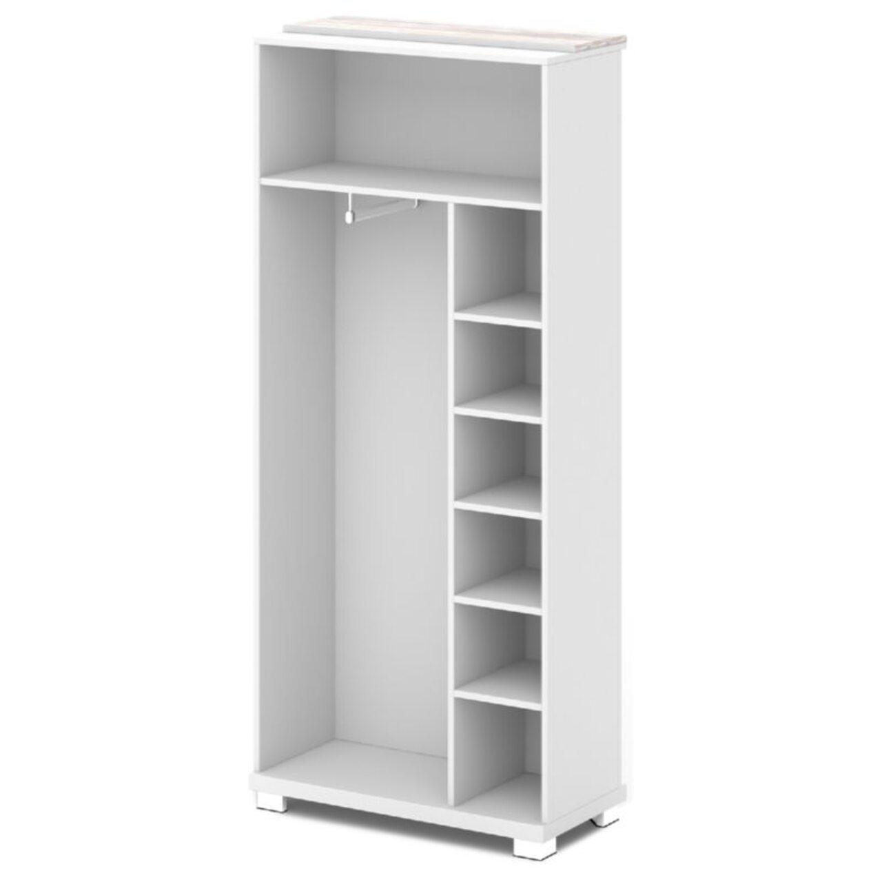 Каркас шкафа для одежды центральный  GRACE 90x44x205 - фото 4